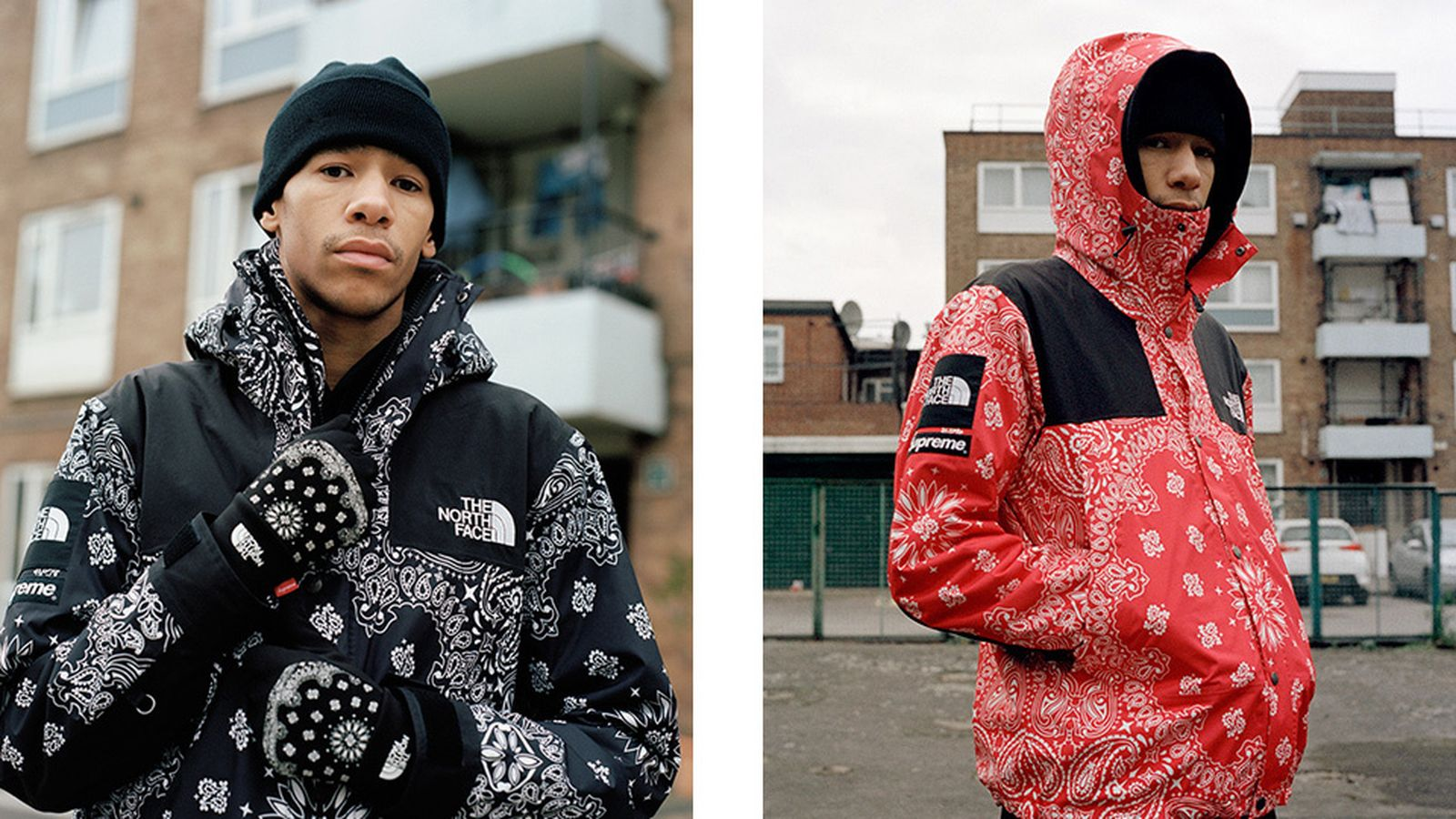 supreme x the north face history fw14