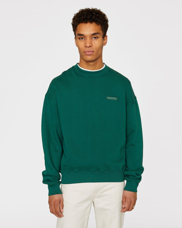 Highsnobiety Staples — Sweatshirt Green - Image 2