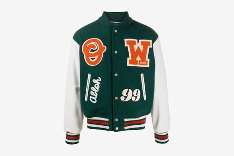 Logo Patches Varsity Jacket