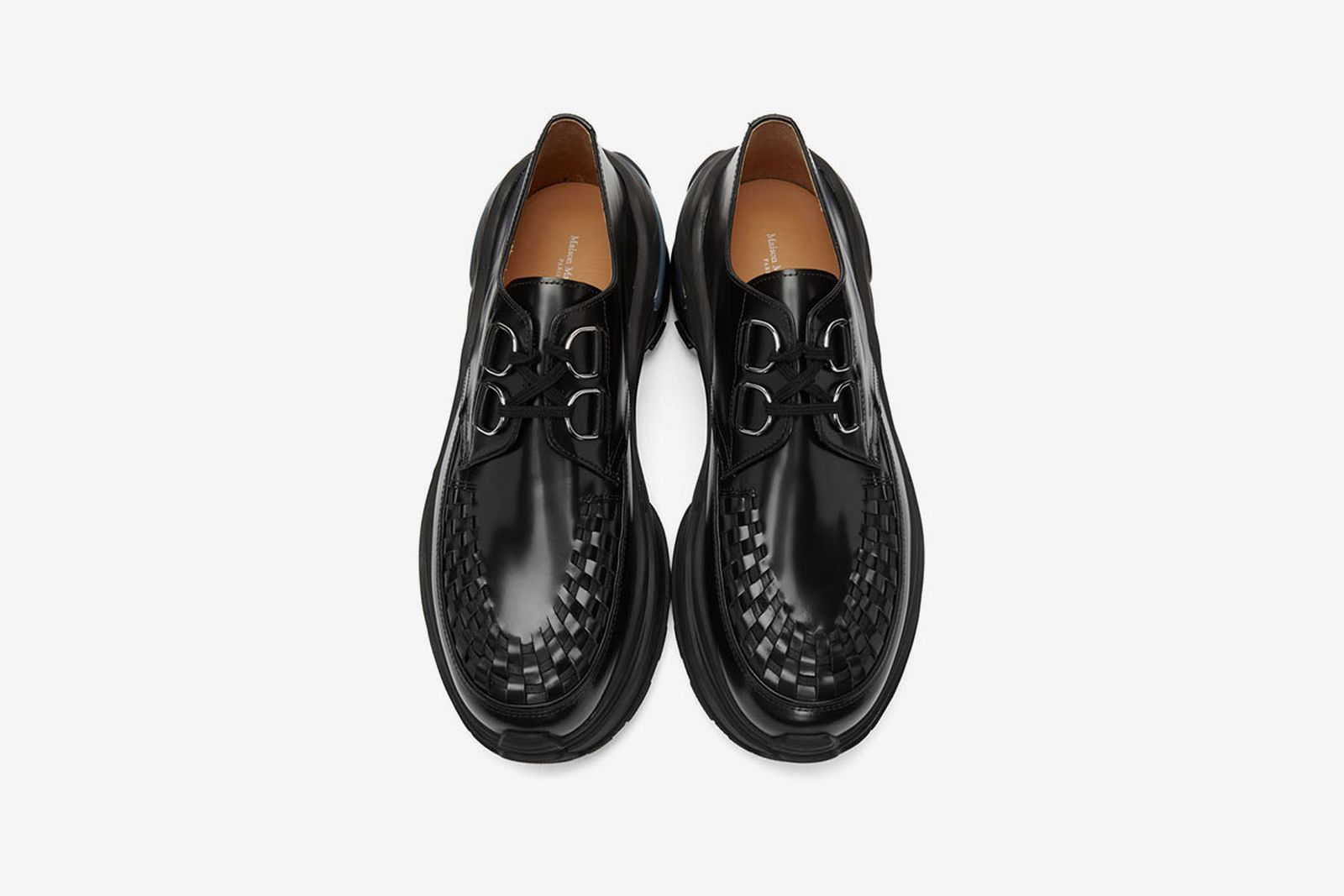 Maison Margiela Creeper black leather