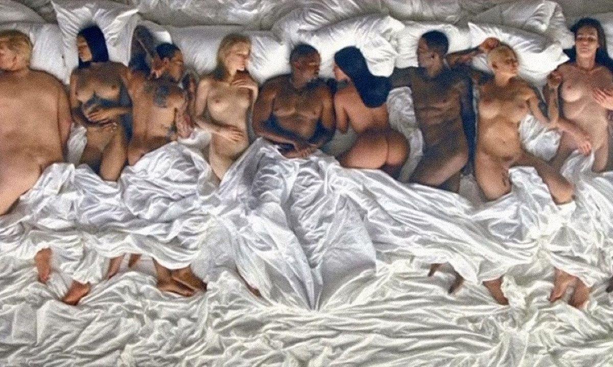 """Kanye's """"Famous"""" Video"""