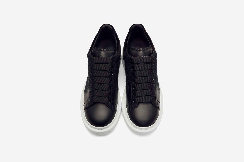 Black Velvet Classic Sneakers