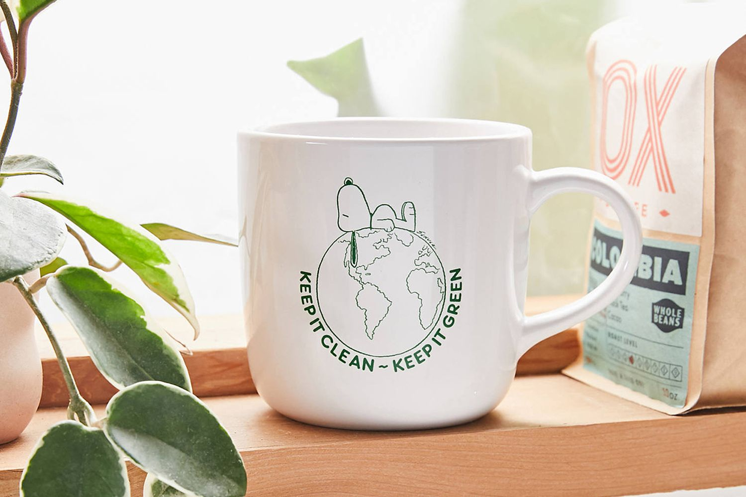 Peanuts Keep It Clean 15 oz Mug