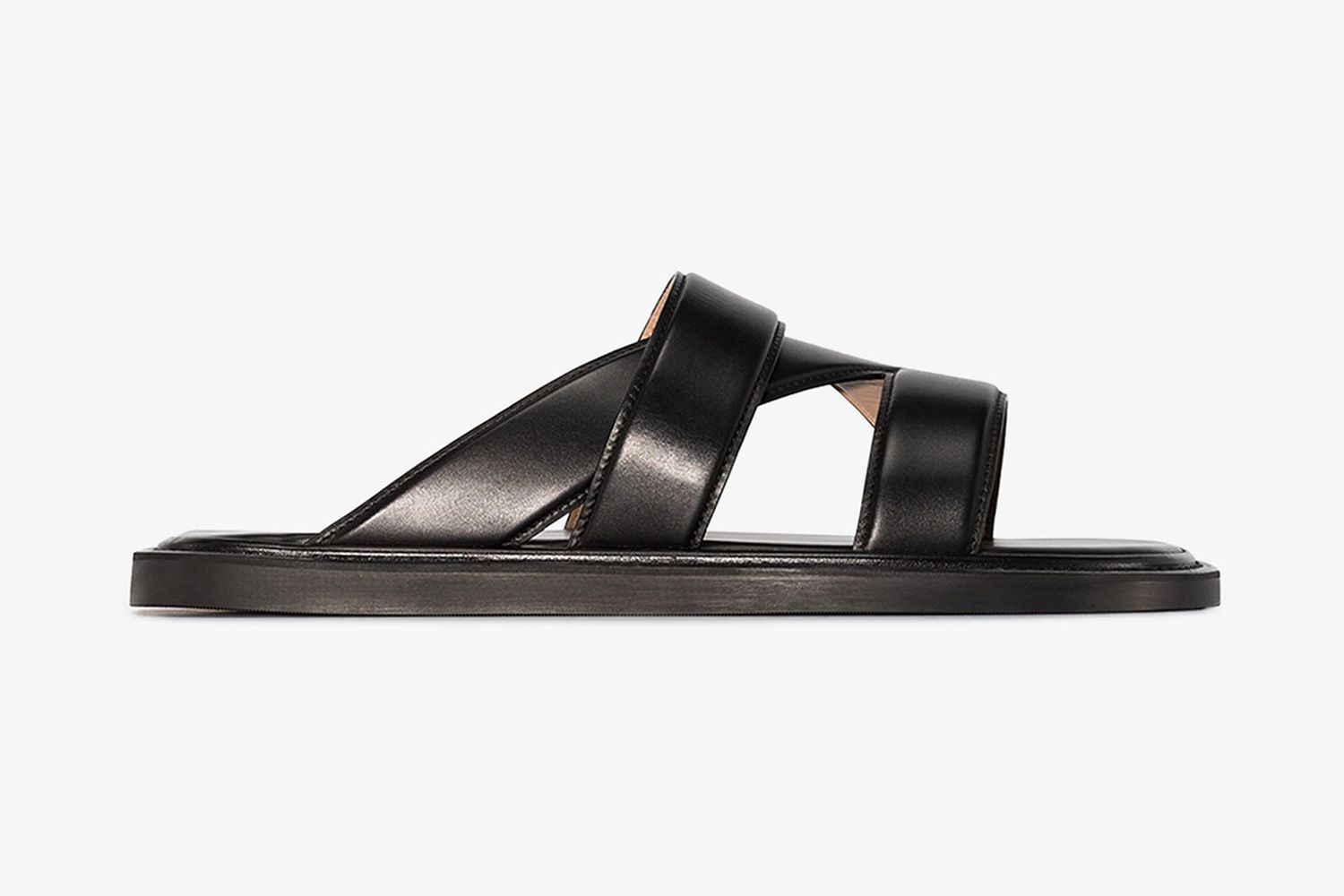 Band Leather Sandals