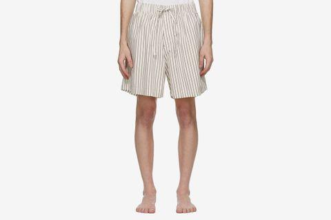 Striped Pyjama Shorts
