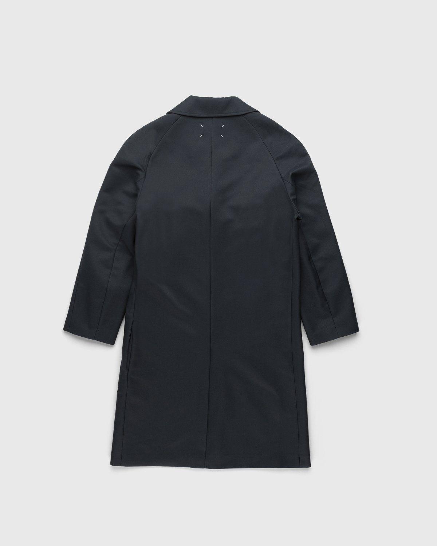 Maison Margiela – Memory Of Twill Coat Dark Grey - Image 2