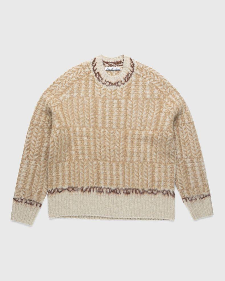 Acne Studios – Knit Sweater Beige