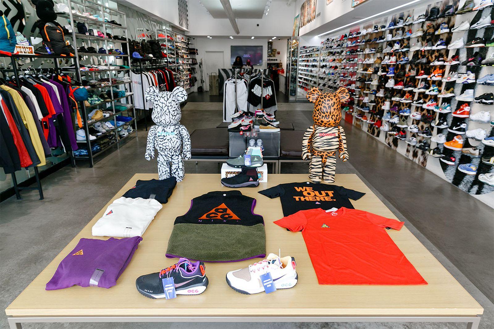 best new york sneaker stores atmos AMEX american express platinum