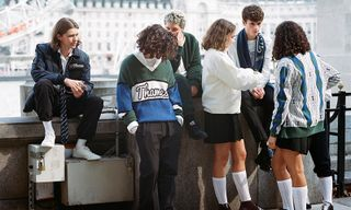 Blondey McCoy Debuts Preppy Thames x Fred Perry Collection