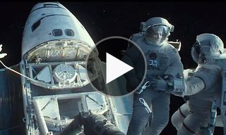 "Watch the New, Intense 'Gravity' Trailers ""Detached"" and ""Drifting"""