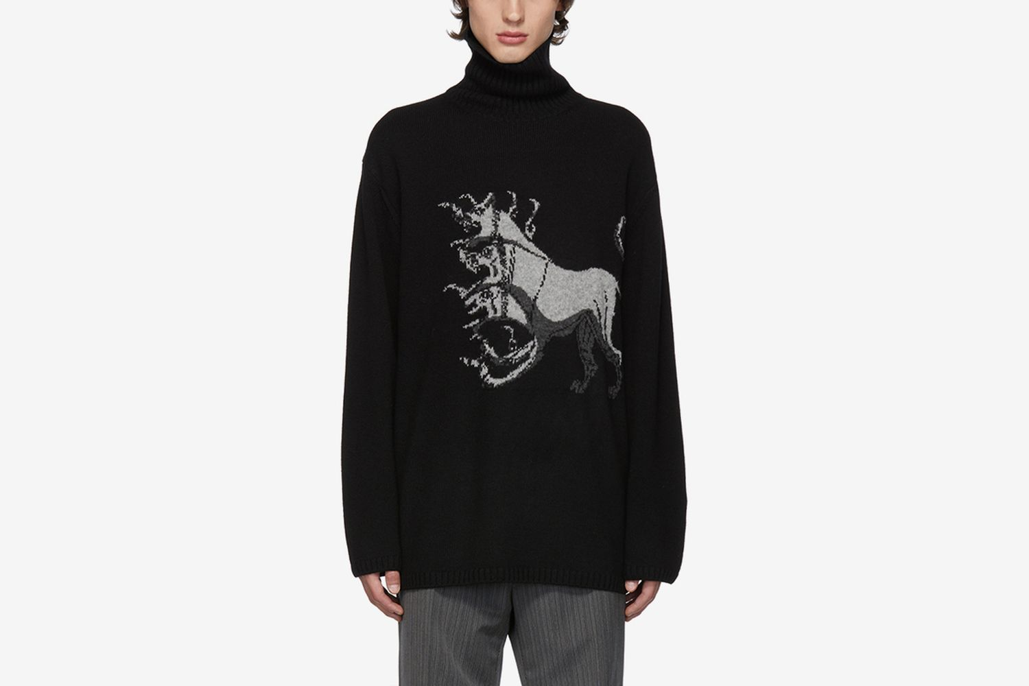 Print Turtleneck