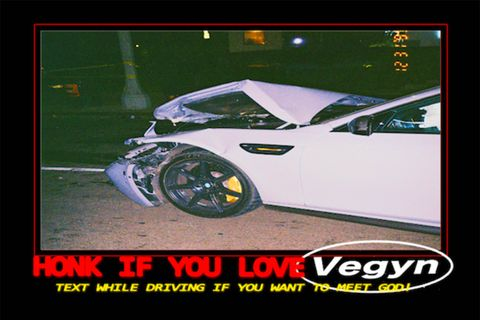 vegyn 71 track mixtape listen text while driving if you want to meet god!
