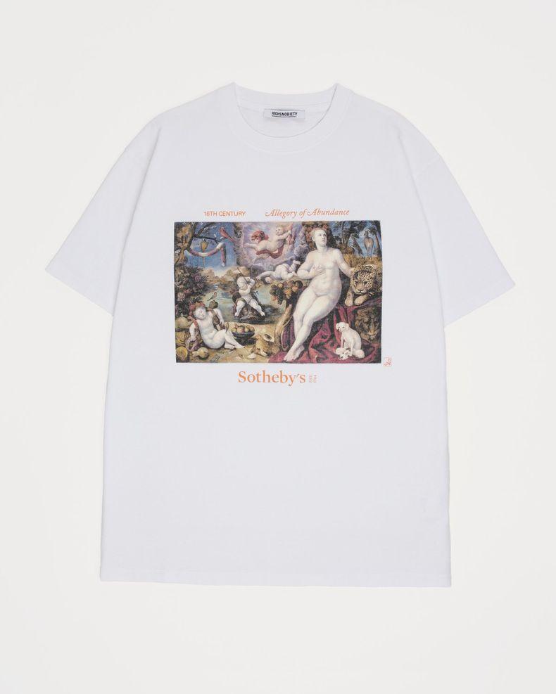 Highsnobiety x Sotheby's - T-Shirt White Florentine School