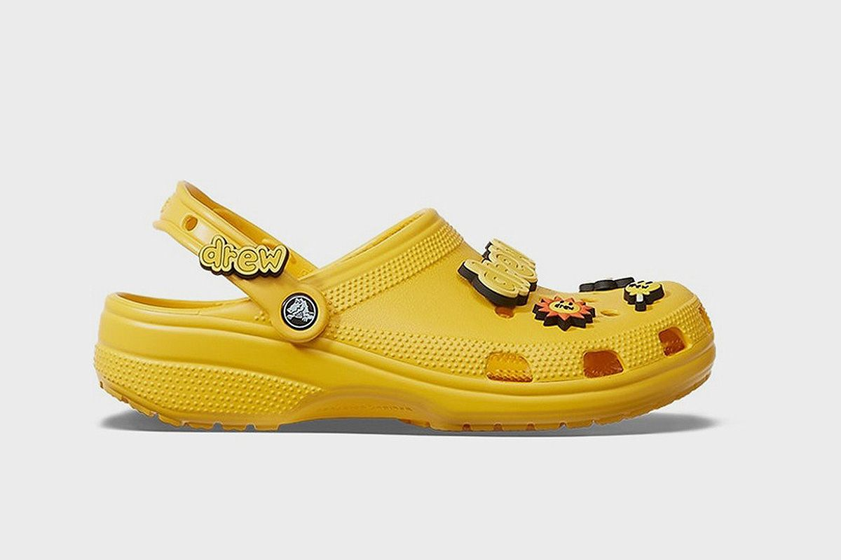 justin bieber crocs stockx