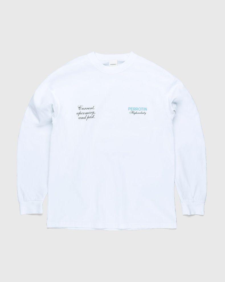 Highsnobiety — Not In Paris 3 x Galerie Perrotin Longsleeve White