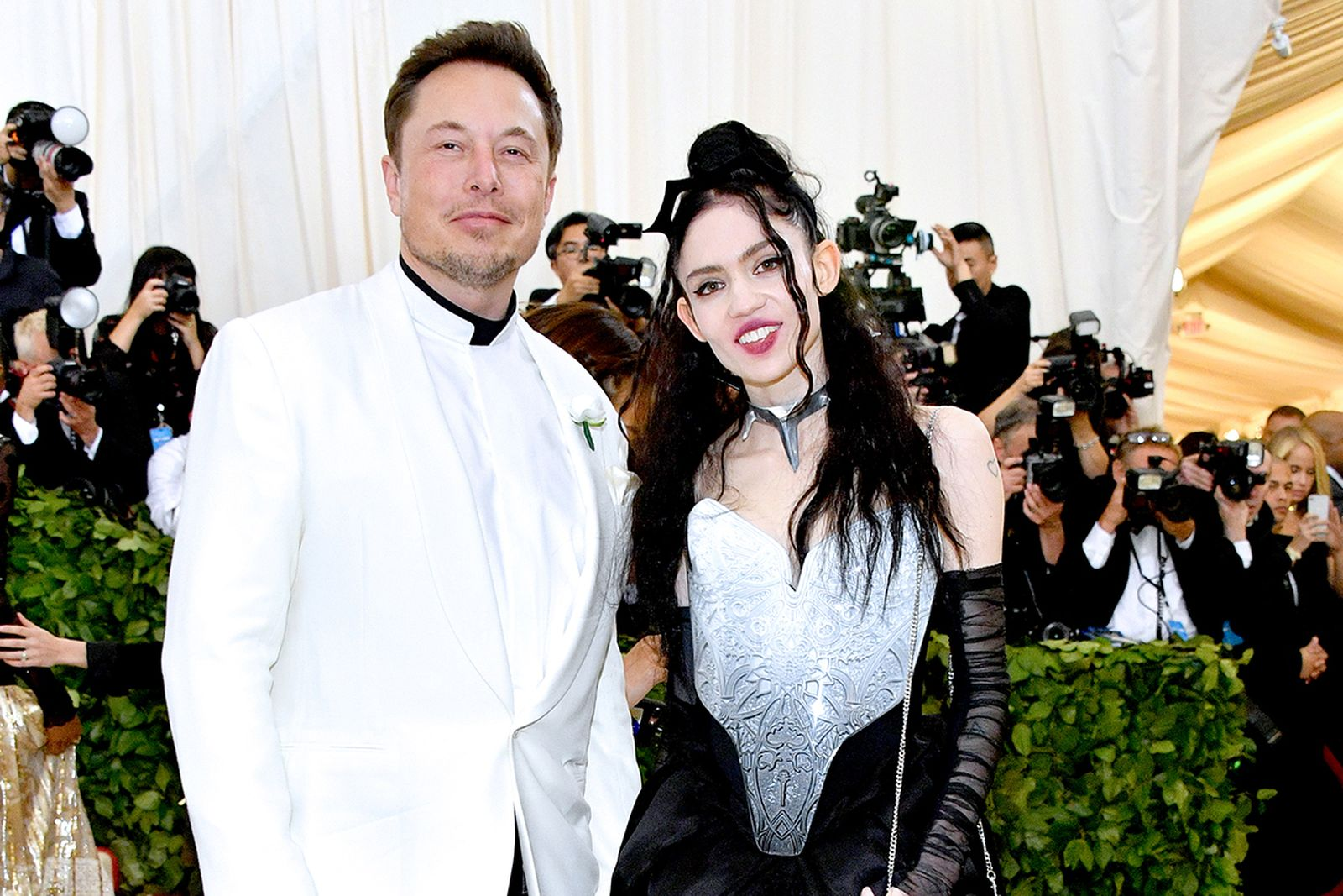Grimes Elon Musk Met Gala
