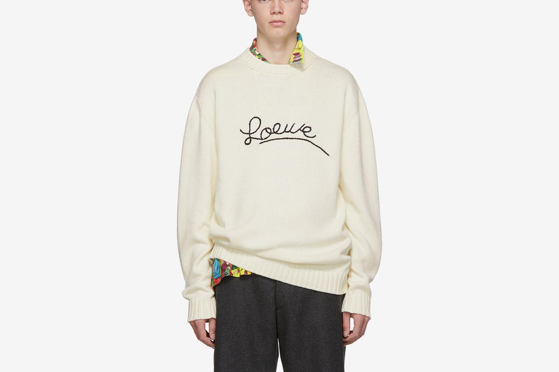 Logo Stitch Sweater