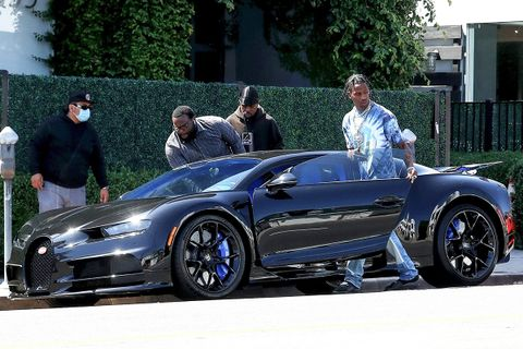 Travis Scott with Bugatti Chiron
