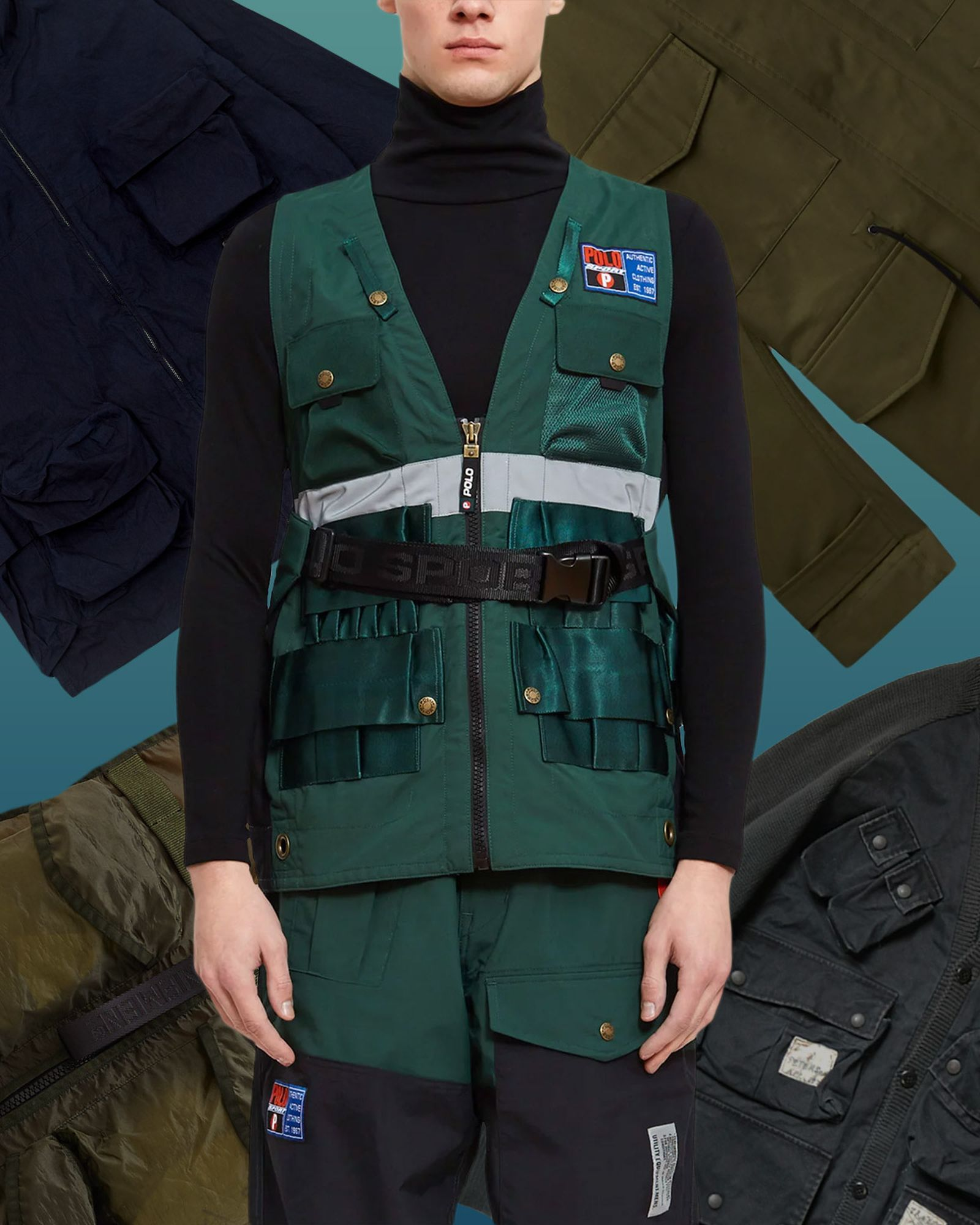 Best Outerwear for Men Polo Ralph Lauren Trek Vest