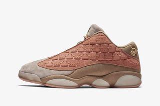 "best sneakers 9a4b3 90a2b The ""Terracotta Blush"" CLOT x Nike Air Jordan 13 Low Drops Tomorrow"