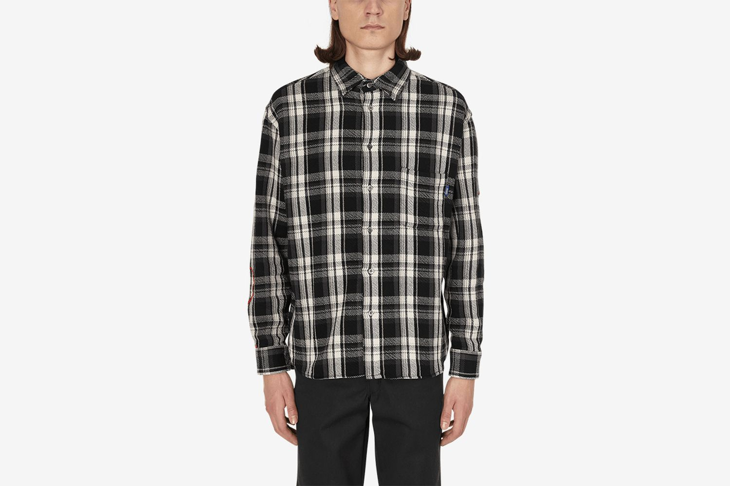 Heavyweight Barbed Wire Flannel Shirt