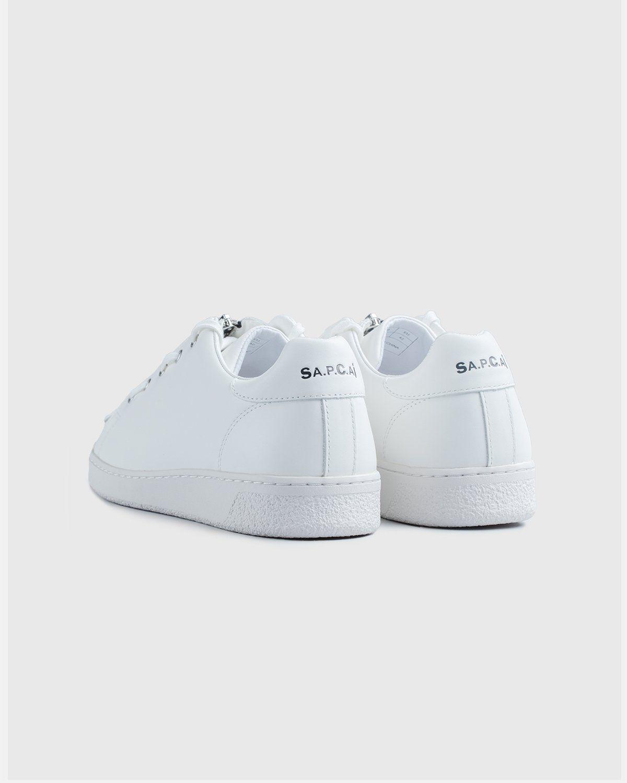 A.P.C. x Sacai — Minimal Sneaker White - Image 4