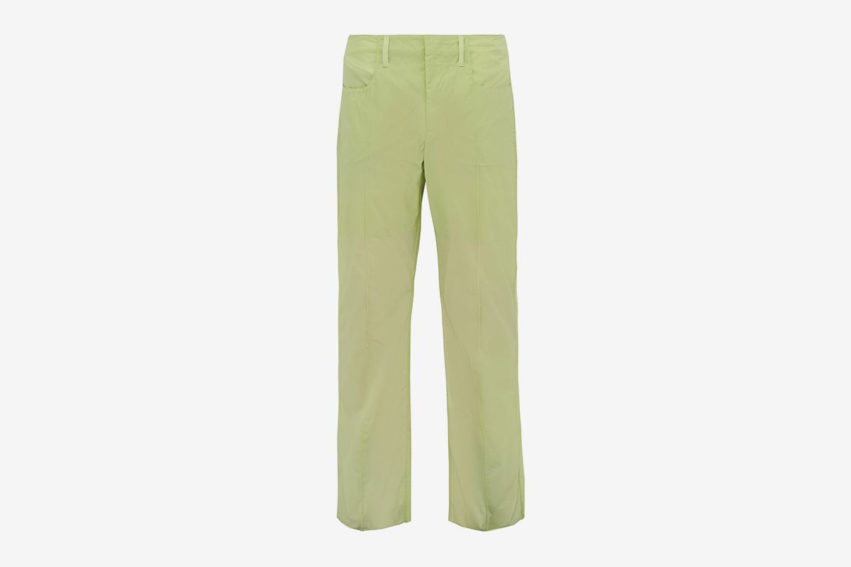 Straight-Leg Trousers