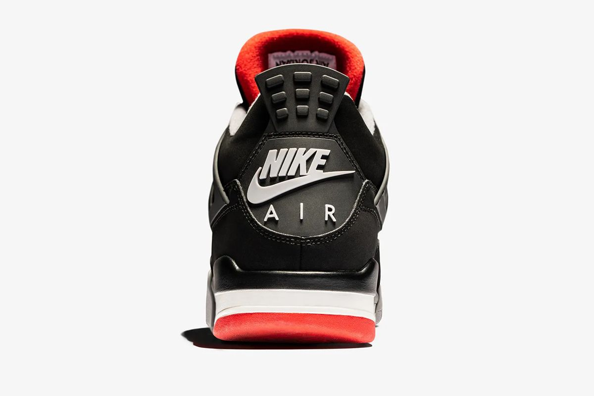 """detailed look 64b88 50997 Nike Compares All 5 Versions of the Nike Air Jordan 4 """"Bred"""""""