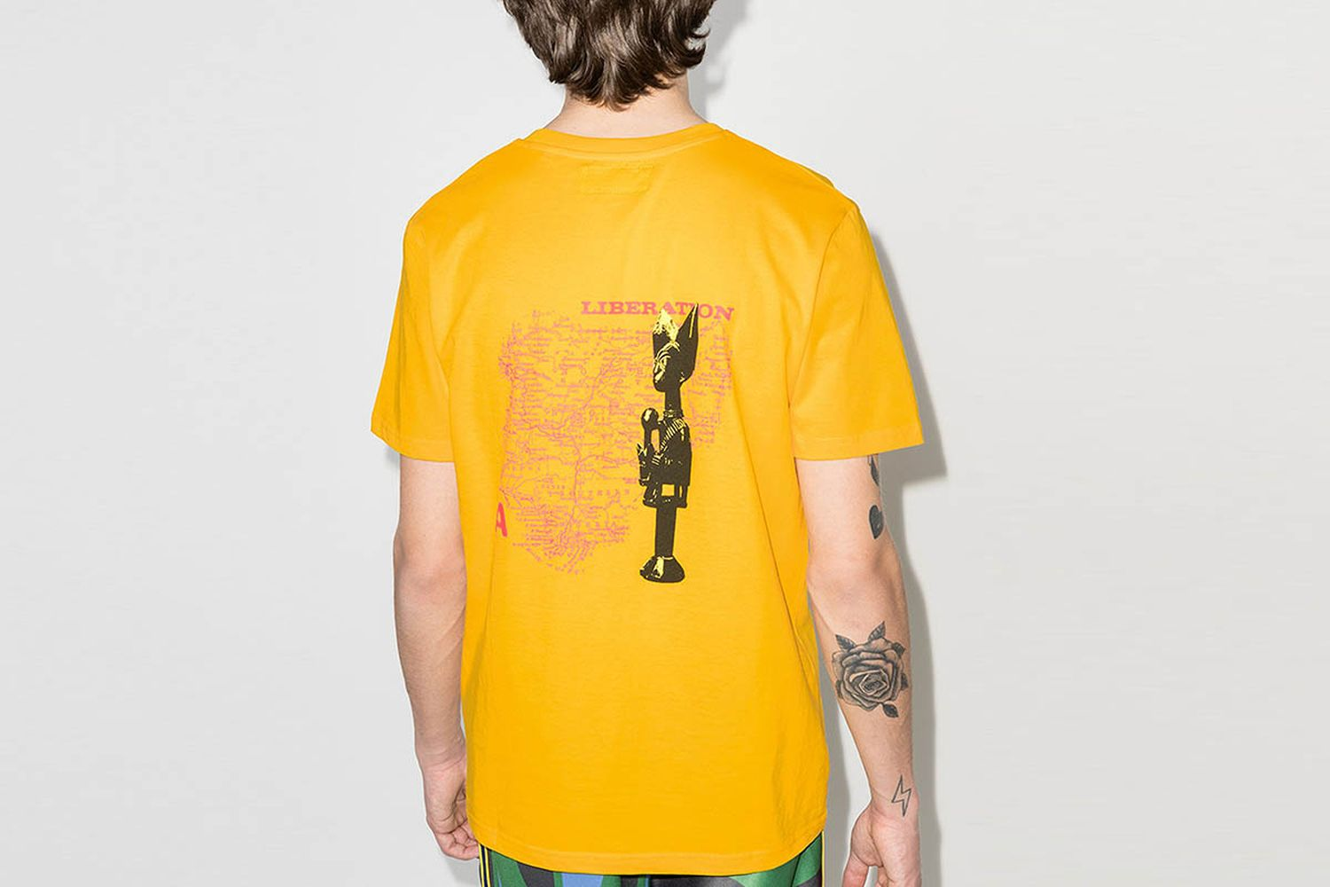 Liberation Embroidered T-Shirt