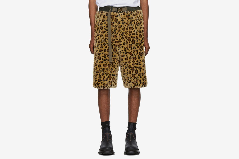 Faux-Fur Shorts