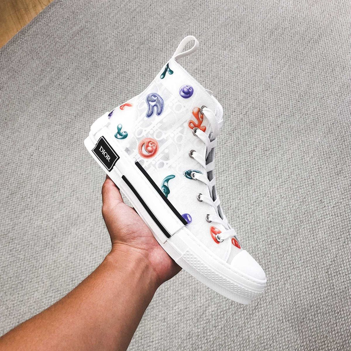 Dior's FW21 Sneakers Are Just Plain Fun & We Have Kenny Scharf to Thank 3