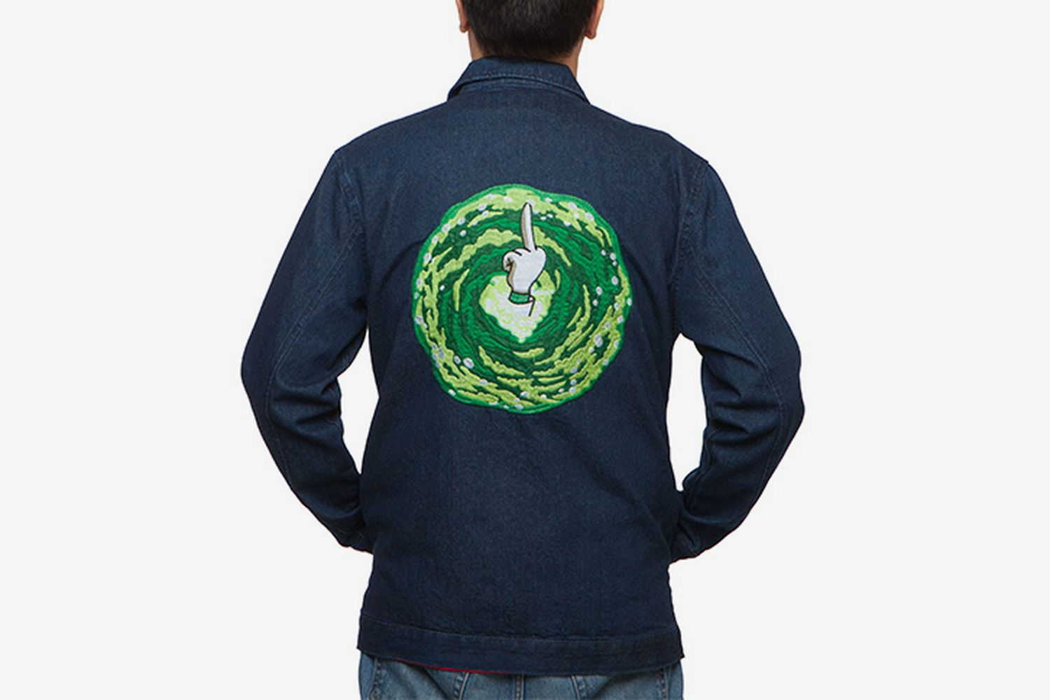 Rick And Morty Watch Me Go Denim Jacket