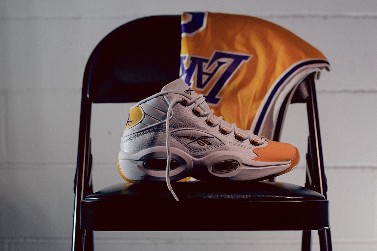 """Reebok's Kobe-Approved Question Mid """"Yellow Toe"""" Returns This Week 9"""