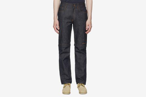 Convertible Zip-Off Jeans