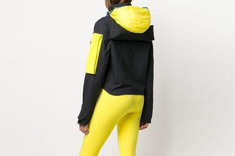 Detachable Pocket Hooded Jacket
