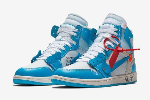 virgil abloh air jordan 1 unc release date price nike confirmed nike air jordan 1 sneakrs