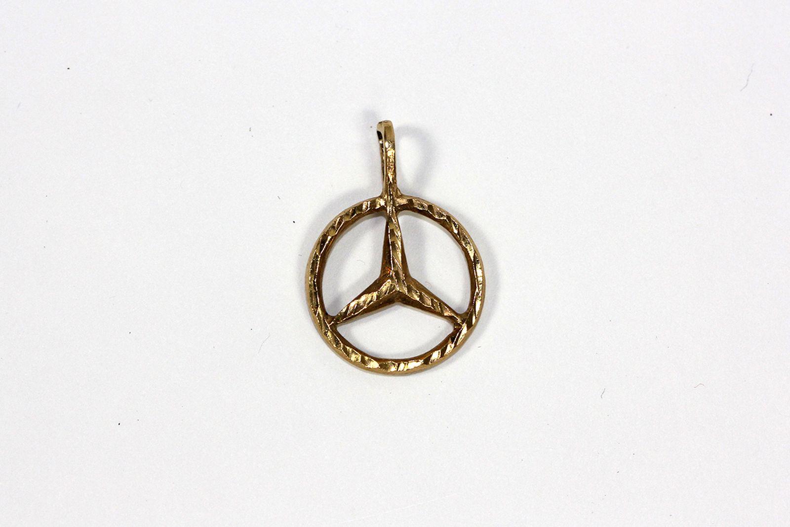 Benz Star Pendant