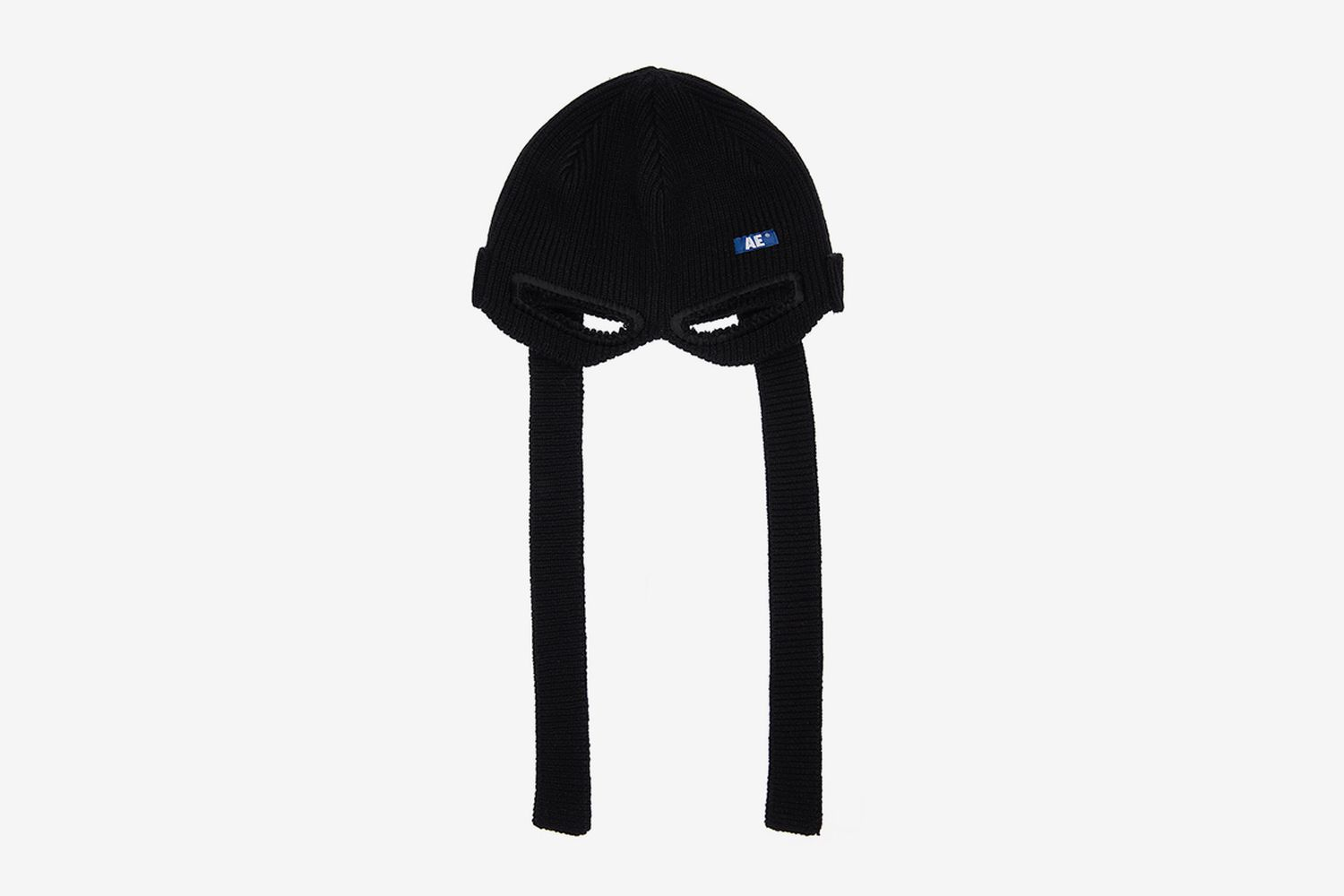 Logo Ninja Shaped Wool Blend Beanie
