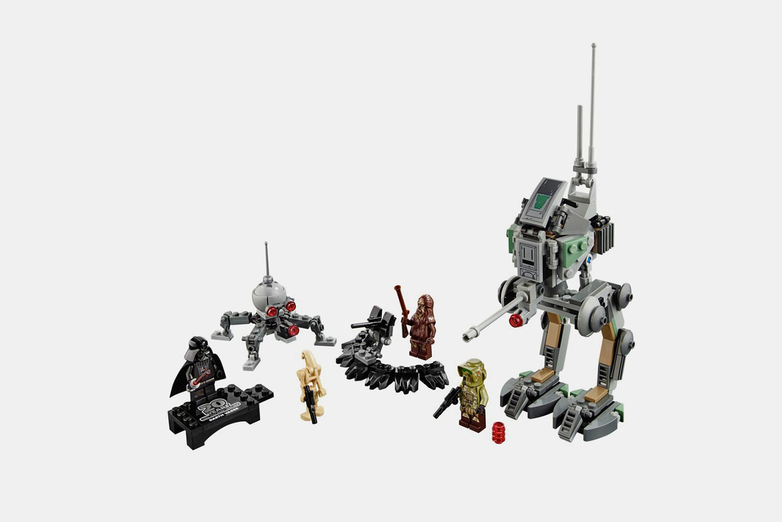 lego star wars 20th anniversary vehicle sets