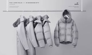 THE ARRIVALS x Highsnobiety Aer Puffer Drops Today