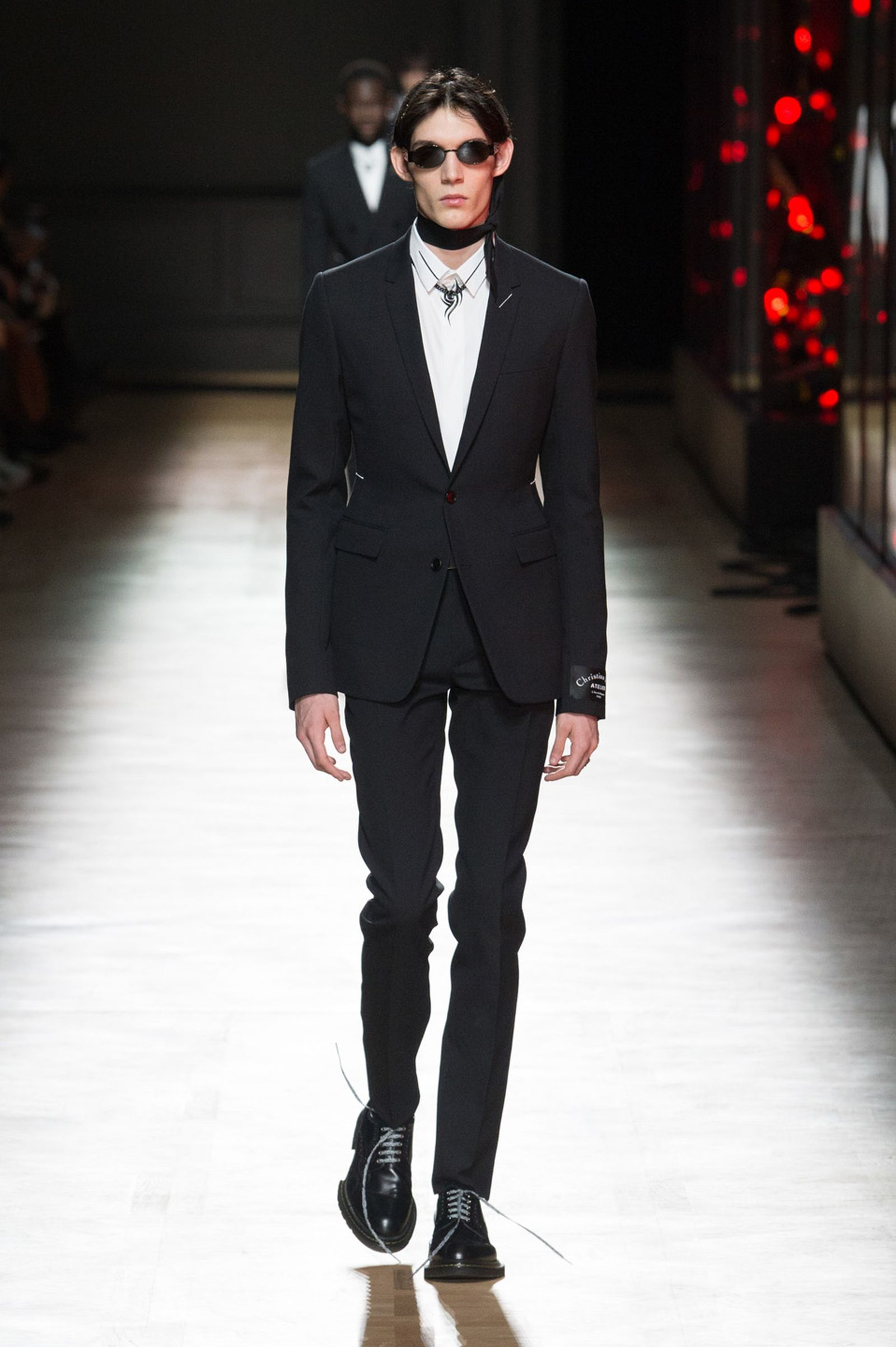 DIOR HOMME WINTER 18 19 BY PATRICE STABLE look05 Fall/WInter 2018 runway