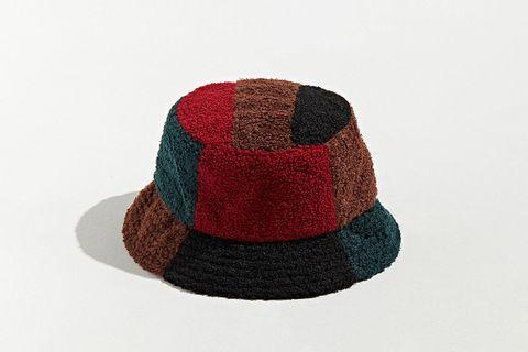 Sherpa Patchwork Bucket Hat