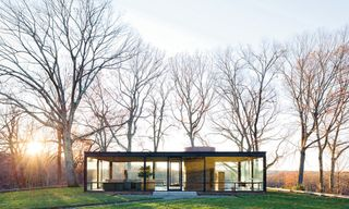 """An """"Architectural Theme Park"""" – Inside the Connecticut Home of Philip Johnson & David Whitney"""