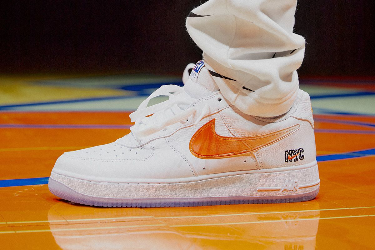 Kith's Knicks Air Force 1 Is the Only W the Team Will Have All Season 33