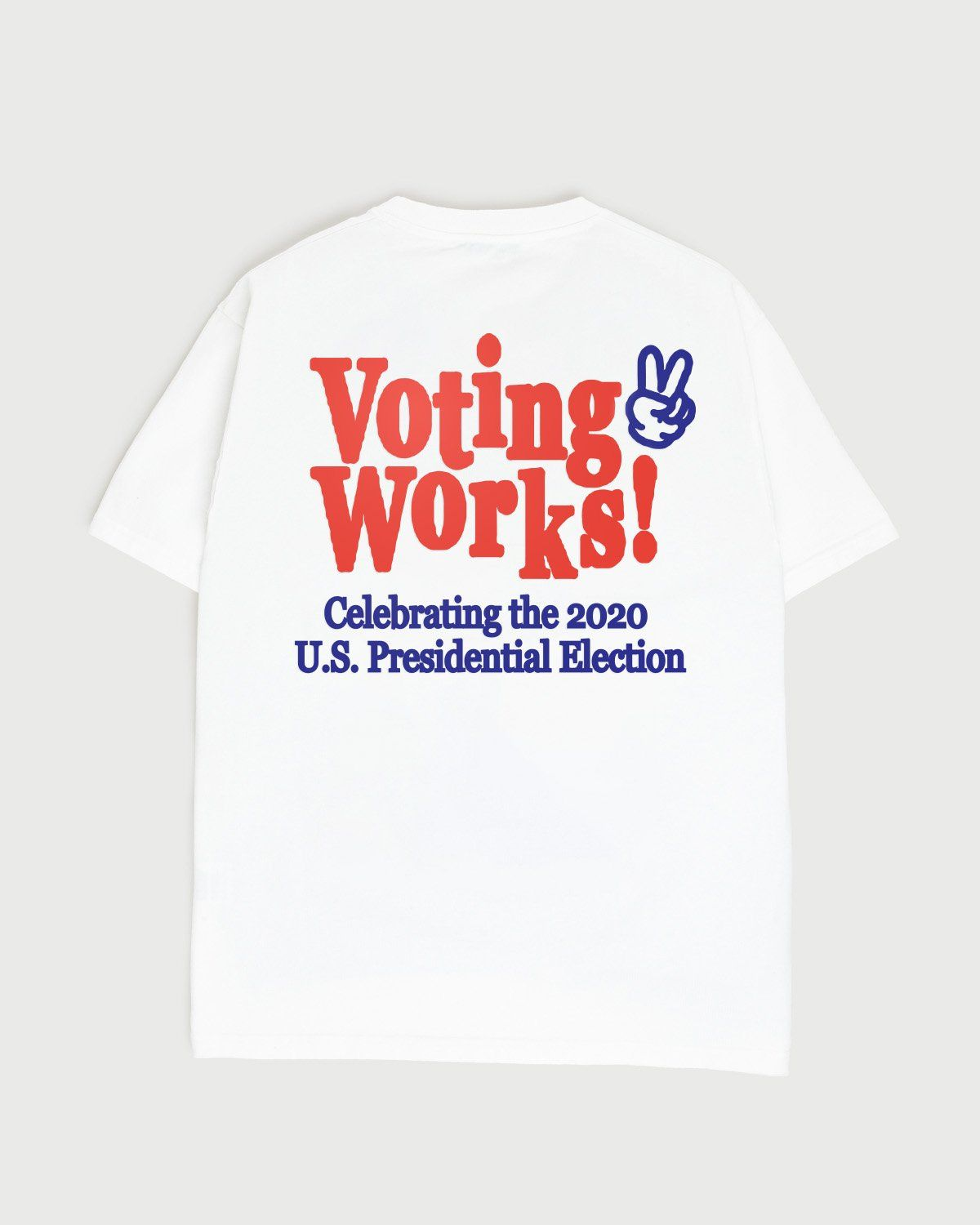 Voting Works 2020  T-Shirt White - Image 1