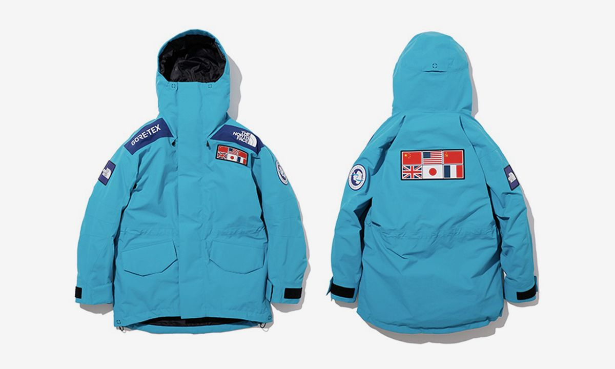 The North Face Debuts New Trans Antarctica Expedition Jacket
