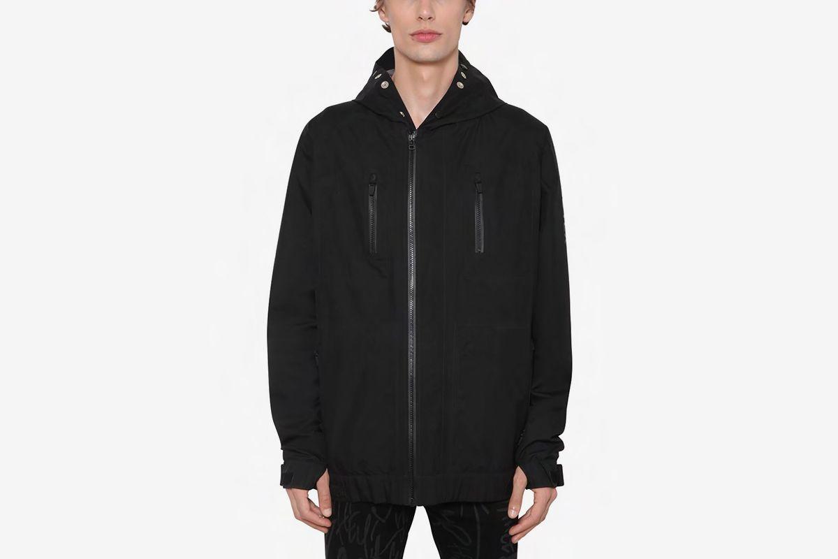 GORE-TEX Nylon Zip Hooded Jacket