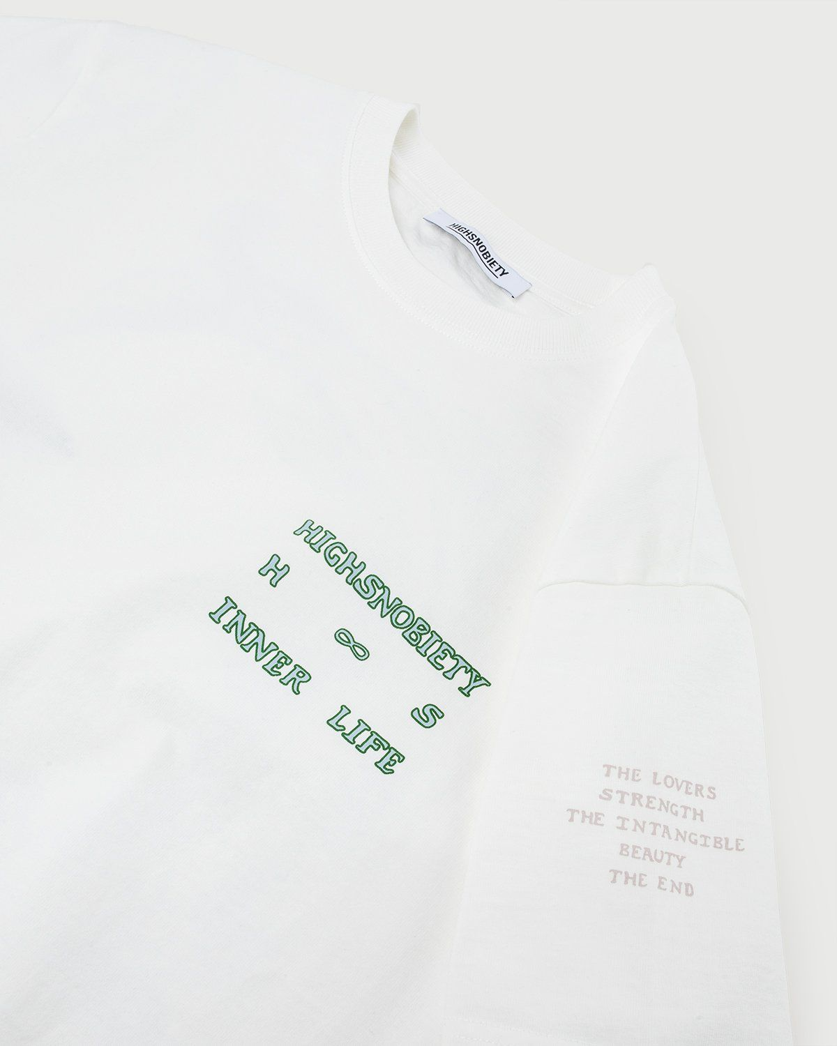 Inner Life by Highsnobiety - The End T-Shirt White - Image 6