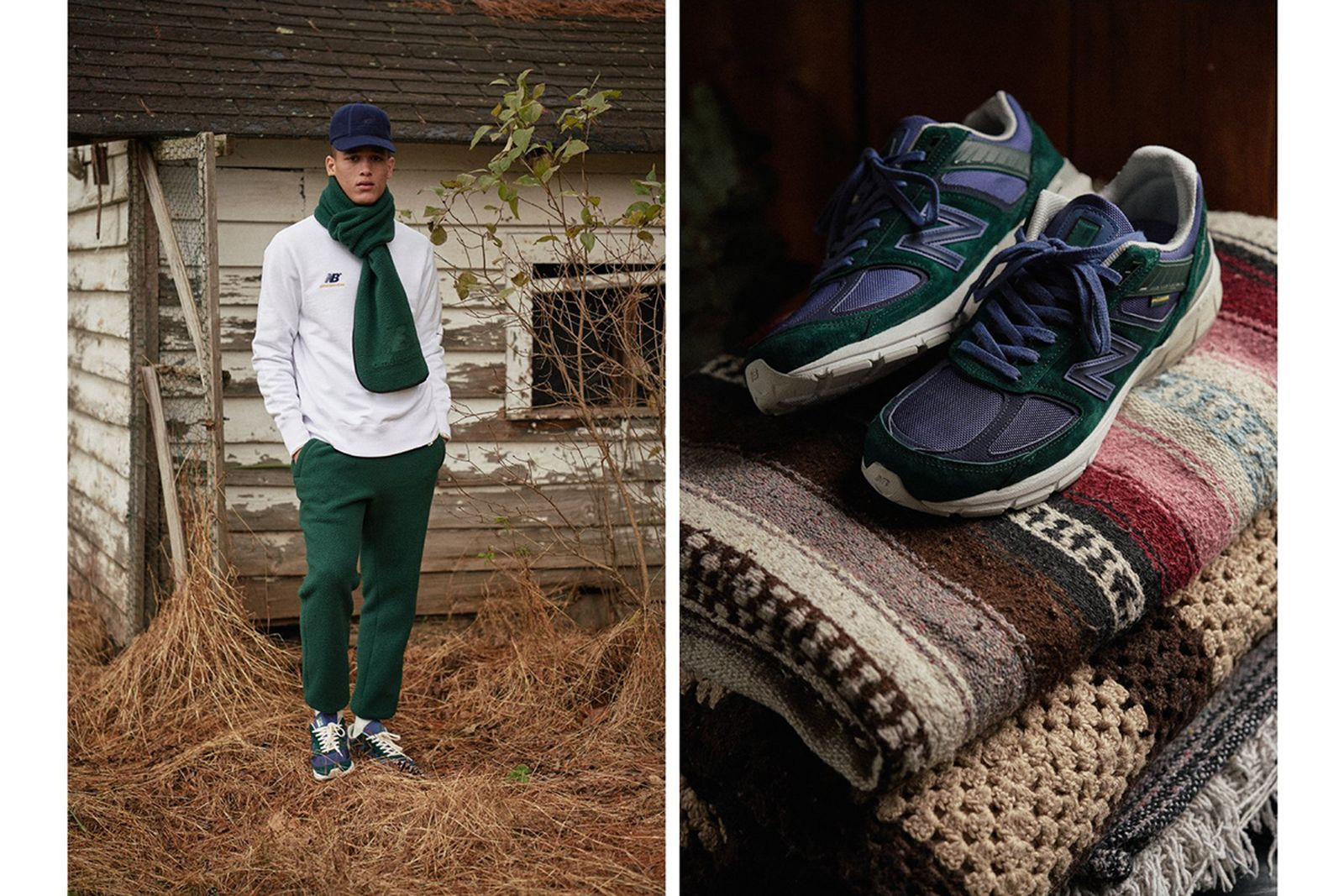 Aimé Leon Dore x New Balance apparel and sneakers