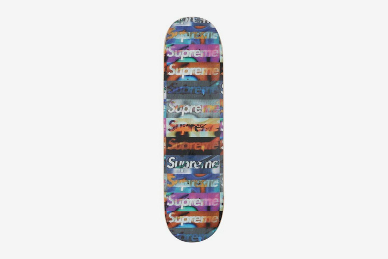 Distorted Logo Skateboard Deck